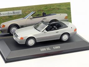 Mercedes Benz 500 SL (R129) Baujahr 1989 silber 1:43 Ixo Altaya