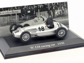 Hermann Lang Mercedes-Benz W154 #18 formula 1 1939 1:43 Ixo Altaya