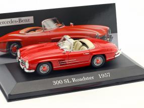 Mercedes-Benz 300 SL Roadster (W198) Year 1957 red 1:43 Altaya