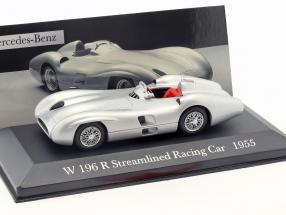 Mercedes-Benz W196 R Streamlined racing cars Year 1955 silver 1:43 Altaya