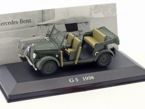 Mercedes-Benz G5 (W152) Baujahr 1938 dunkel grün 1:43 Ixo Altaya