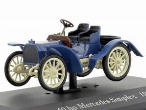 Mercedes Simplex Baujahr 1902 blau / weiß 40 hp 1:43 Ixo Altaya