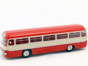 Chausson ANG Bus Frankreich Baujahr 1956 rot / weiß / silber 1:43 Altaya