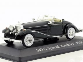Mercedes-Benz 540 K Special Roadster (W29) Construction year 1936 green 1:43 Ixo Altaya