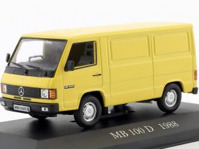 Mercedes-Benz MB 100 D Baujahr 1988 gelb 1:43 Altaya