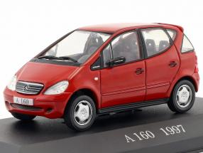 Mercedes-Benz A160 W168 Year 1997 red 1:43 Altaya