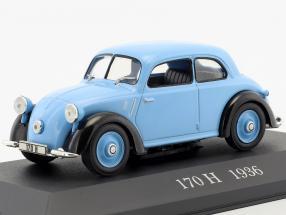 Mercedes-Benz 170 H (W28) Baujahr 1936 blau 1:43 Ixo Altaya