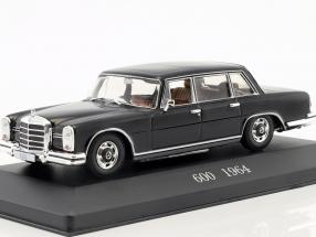 Mercedes-Benz 600 (W100) Year 1964 black 1:43 Altaya