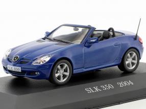 Mercedes-Benz SLK 350 (R171) Construction year 2004 blue 1:43 Altaya