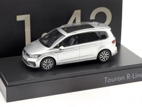 Volkswagen VW Touran R-Line year 2016 silver metallic 1:43 Spark
