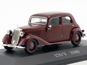 Mercedes-Benz 170 V (W136) Baujahr 1949 rot 1:43 Ixo Altaya