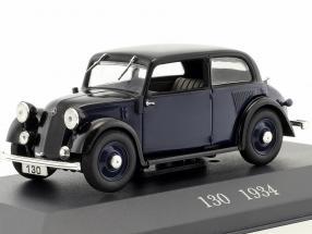 Mercedes-Benz 130 (W23) year 1934 blue / black 1:43 Ixo Altaya