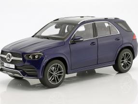 Mercedes-Benz GLE (V167) Baujahr 2018 brilliant blau metallic 1:18 Norev