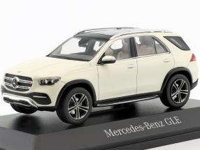 Mercedes-Benz GLE (V167) year 2018 designo diamond white bright 1:43 Norev