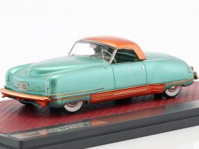 Chrysler Thunderbolt Concept Le Baron Closed Top Construction year 1941 green metallic 1:43 Matrix