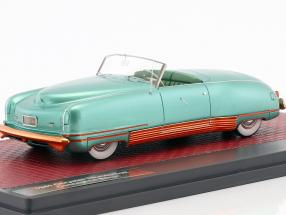 Chrysler Thunderbolt Concept Le Baron Open Top Baujahr 1941 grün metallic 1:43 Matrix