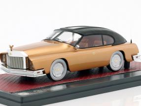 Mohs Ostentatienne Opera limousine year 1967 black / gold 1:43 Matrix