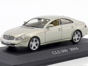 Mercedes-Benz CLS 500 C219 Year 2004 beige metallic 1:43 Altaya