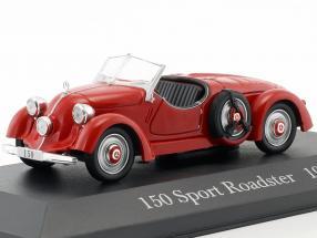 Mercedes Benz 150 Sport Roadster (W30) Baujahr 1935 rot 1:43 Ixo Altaya