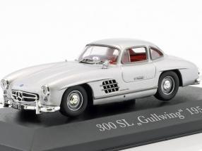 Mercedes-Benz 300 (W198) SL Gullwing Bj. 1954 silber 1:43 Ixo Altaya