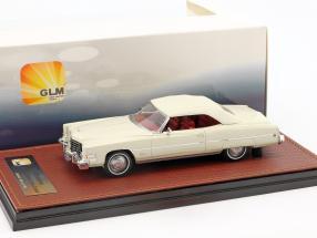 Cadillac Eldorado Convertible Closed Top Baujahr 1973 weiß 1:43 GLM