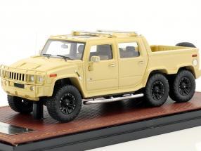 Hummer H2 SUT 6 year 2012 beige 1:43 GLM