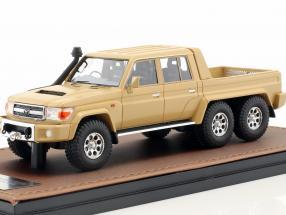 Toyota Landcruiser FJ79 MDT Southern Scorpion 6x6 year 2014 beige 1:43 GLM