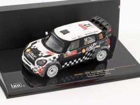 Mini John Cooper Works #12 Rallye Monte Carlo 2012 Araujo, Ramalho 1:43 Ixo