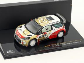 Citroen DS3 WRC Abu Dhabi World Rallye Team Presentation 1:43 Ixo