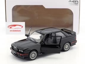 BMW M3 E30 Sport Evolution year 1990 black 1:18 Solido