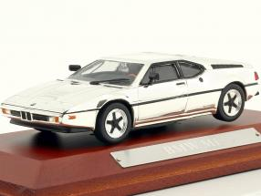 BMW M1 Year 1978 chrome 1:43 Atlas