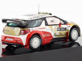 Citroen DS3 WRC Abu Dhabi World Rally Team Presentation