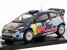 Ford Fiesta RS WRC #4 Bologna Motor Show 2011 A. Dovizioso 1:43 Ixo