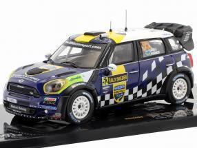 Mini John Cooper Works #52 Rallye Schweden 2012 Sandell, Parmander 1:43 Ixo