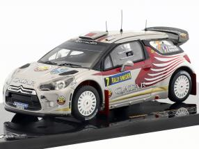 Citroen DS3 WRC Rally Sweden 2012 #7 Attiyah, Bernacchini 1:43 Ixo