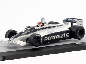 N. Piquet Brabham BT49C #5 World Champion Deutschland GP Formel 1 1981 1:43 Altaya