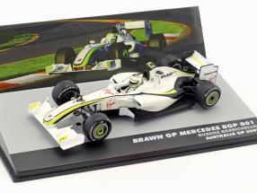 Rubens Barrichello Brawn BGP 001 #23 2nd Australia GP formula 1 2009 1:43 Altaya