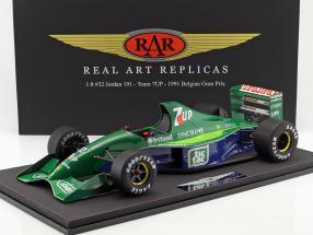 Michael Schumacher Jordan 191 #32 F1 Debut Belgien GP Formel 1 1991 1:8 Real Art Replicas