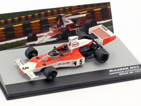 E. Fittipaldi McLaren M23 #5 World Champion Spanien GP Formel 1 1974 1:43 Altaya