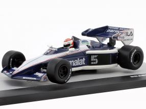 N. Piquet Brabham BT52B #5 World Champion Europe GP Formula 1 1983 1:43 Altaya