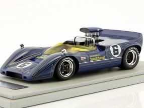 McLaren M6B #6 Winner Bridgehampton GP Can-Am Series 1968 Mark Donohue 1:18 Tecnomodel
