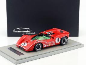 McLaren M6B #11 3rd Bridgehampton GP Can-Am Series 1968 Lothar Motschenbacher 1:18 Tecnomodel