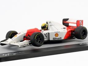 Ayrton Senna McLaren MP4/8 #8 Winner Australia GP formula 1 1993 1:43 Altaya