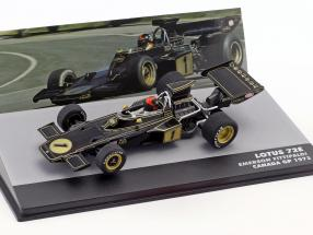 Emerson Fittipaldi Lotus 72E #1 2nd Kanada GP Formel 1 1973 1:43 Altaya