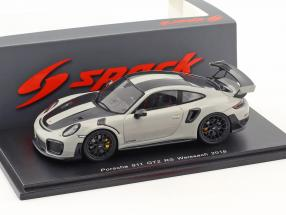 Porsche 911 (991 II) GT2 RS Weissach Package year 2018 chalk Gray 1:43 Spark