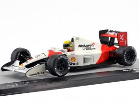 Ayrton Senna McLaren MP4/6 #1 World Champion formula 1 1991 1:43 Altaya