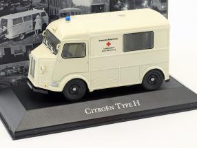 Citroen Typ H Ambulance Deutsches Rotes Kreuz Baujahr 1965 weiß