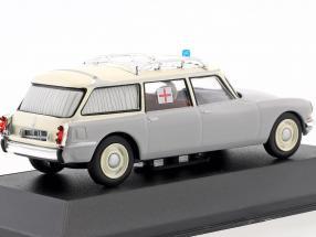 Citroen ID 19 Break Ambulance Baujahr 1962 grau / weiß
