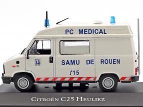 Citroen C25 Heuliez Ambulance Baujahr 1984 weiß