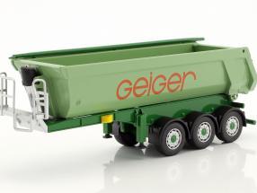 MAN TGS L Rundmulden-Sattelzug Geiger grün